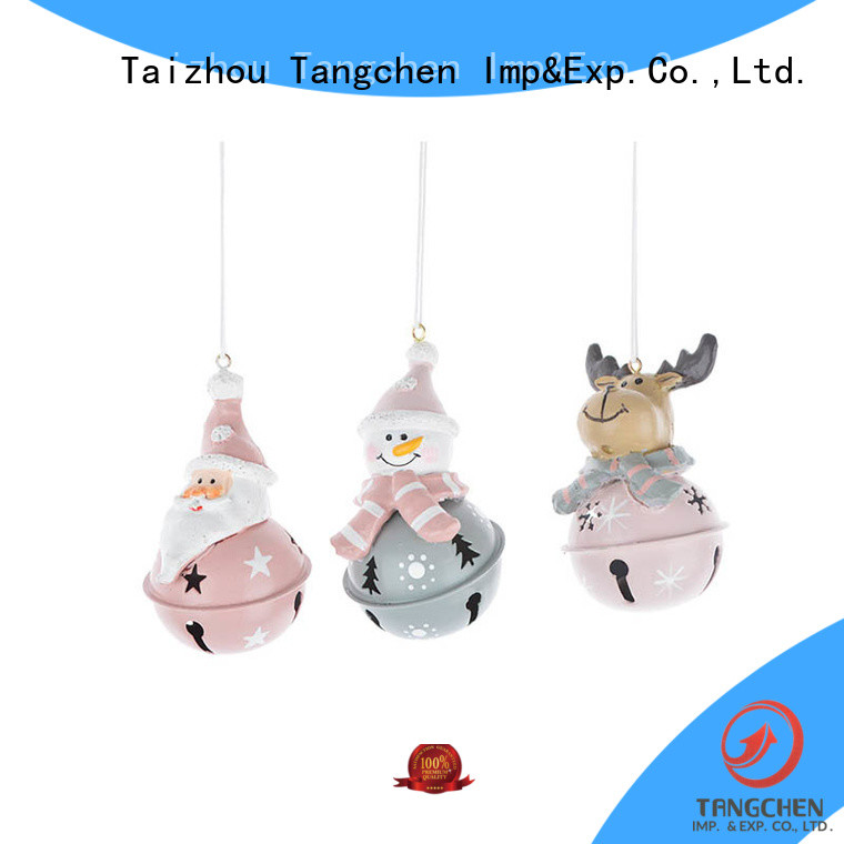 Top black santa decorations shaped factory for christmas
