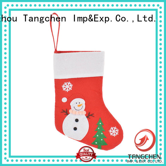 High-quality monogrammed christmas stockings gift for business for holiday decoration
