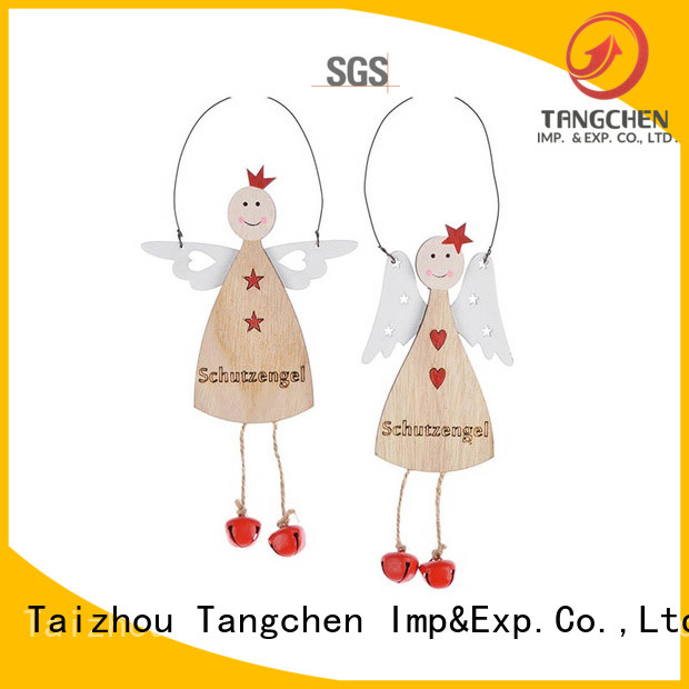 New white christmas ornaments napkin factory for wedding