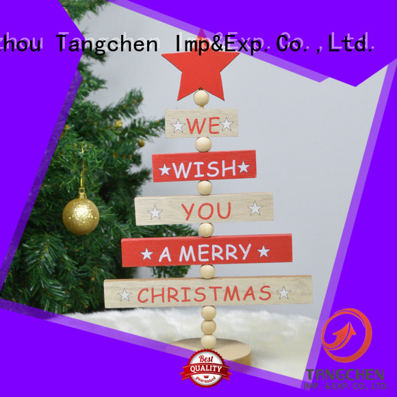 Wholesale inexpensive christmas decorations drawstring factory for home