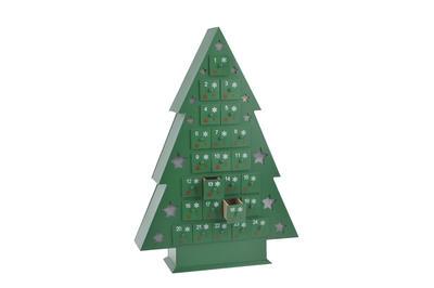Wooden Light up Christmas Tree Advent Calendar