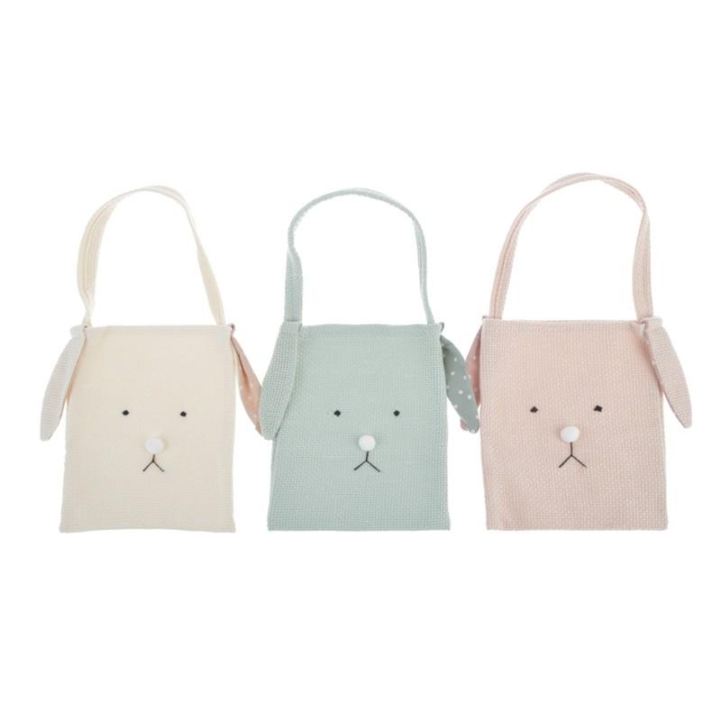 Cartoon Fabric Bag For Easter Kids Decoration