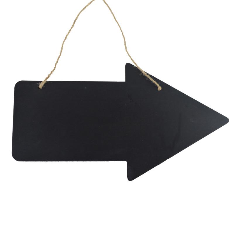 Hanging Blackboard  Arrow Sign For Wedding Event