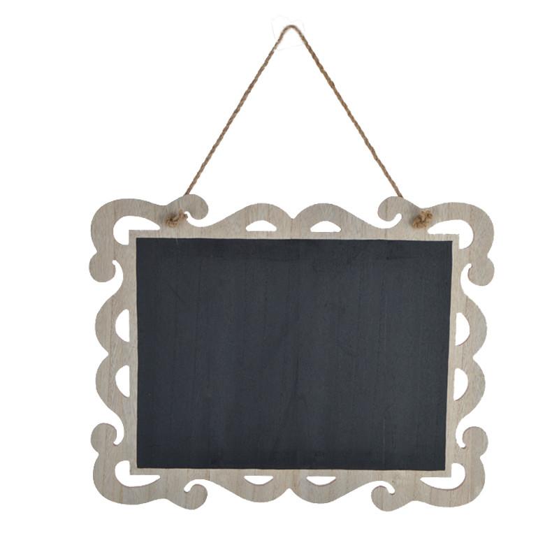 Wooden Craft Hanging Chalkboard   For Restaurant