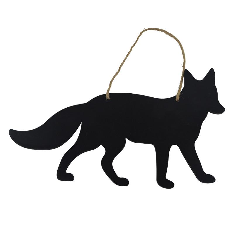 Animal Sign Puppy Blackboard Door Hanging  Decoration
