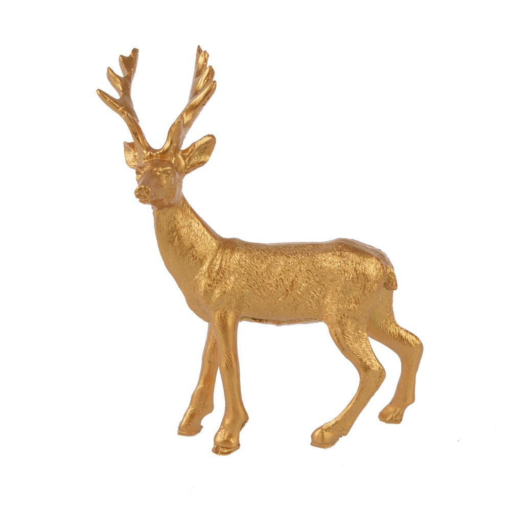 Golden Polyresin Deer Lovely reindeer new design elk