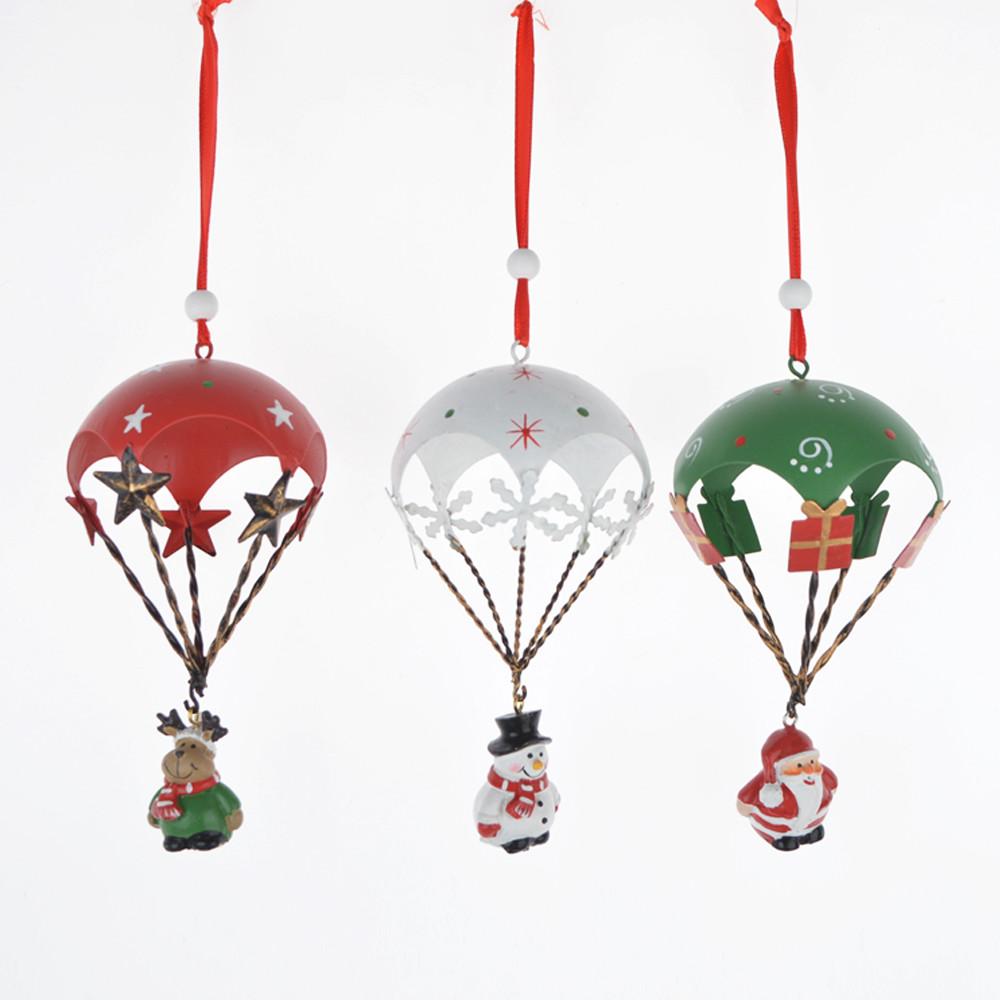 Metal fire ballon hanging Christmas wall hanger  pendant