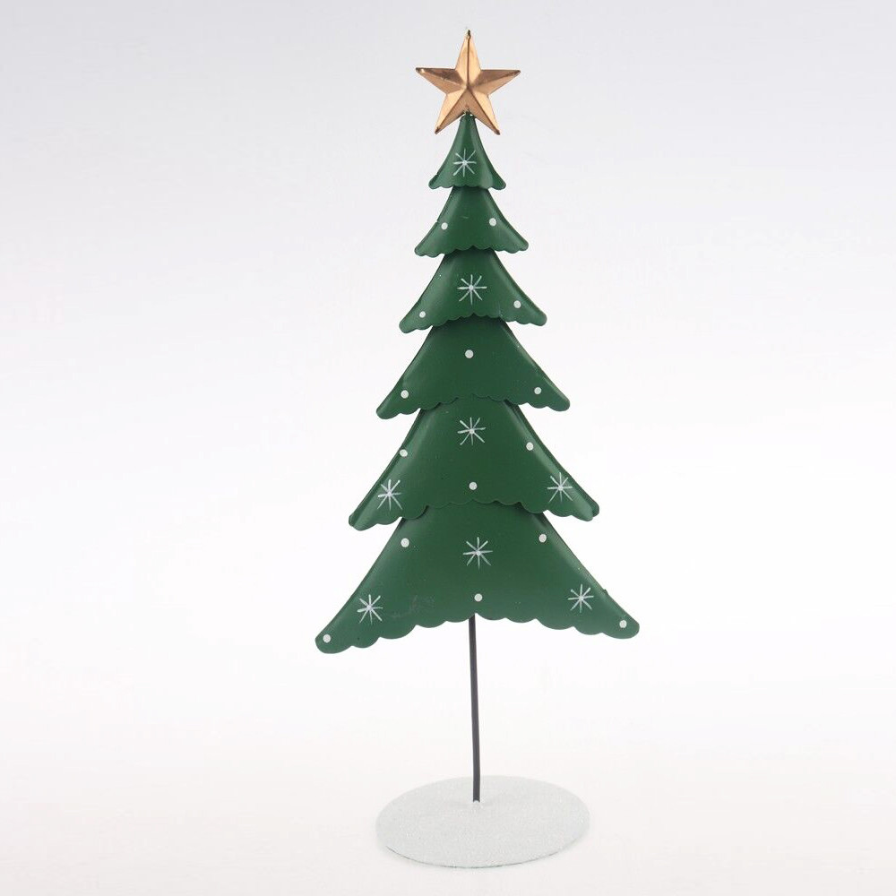 metal tree craft christmas decoration standing table decoration
