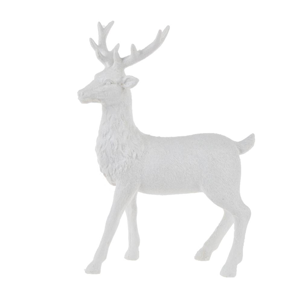 resin deer polyresin elk table centerpieces for Christmas