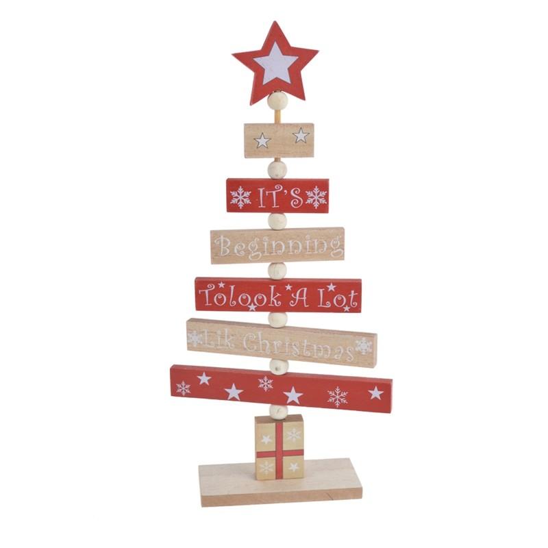 DIY christmas tree decoration table ornaments