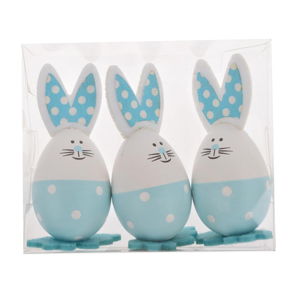 Printed Bright Eggs for Basket Stuffers Fillers Easter Hunt desktop decoration