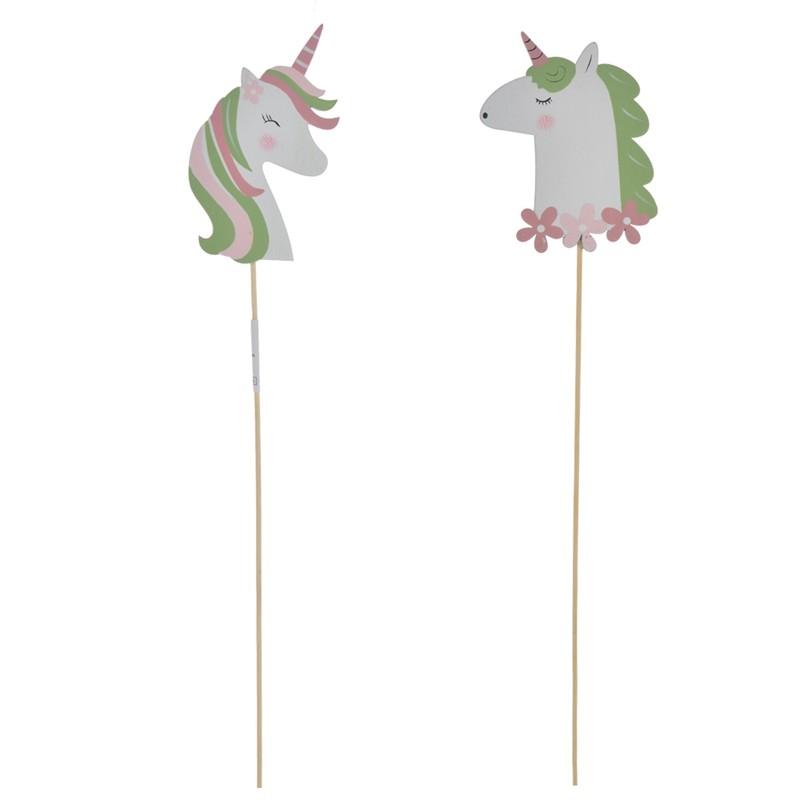 2020 Hot sales wooden unicorn garden decoration