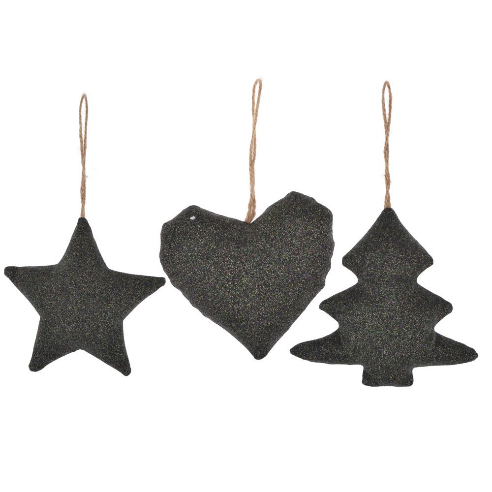 New product ideas 2020 fabric Christmas tree heart star