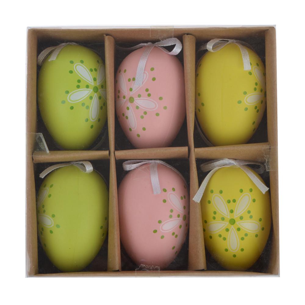 handpainted eggs plastic Easter Egg for Hanging Festival Ornament