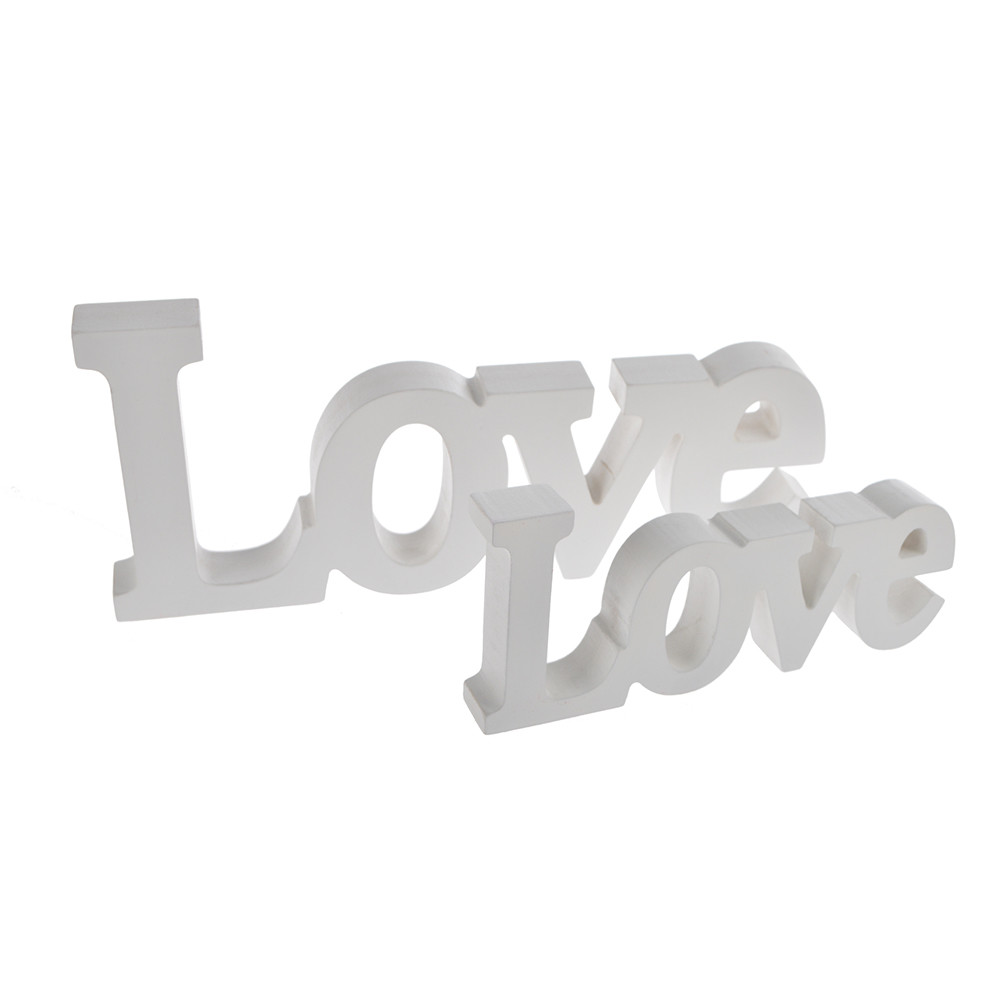 Wooden Love logo Letters Wedding Personalized Table wedding decoration