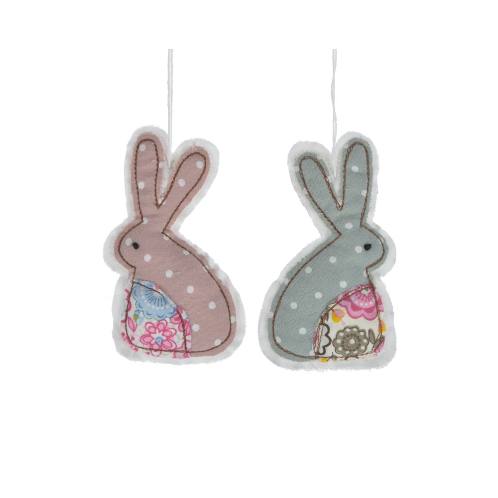 cute design fabric knit cartoon bunny kids favorite gifts easter festival ornament