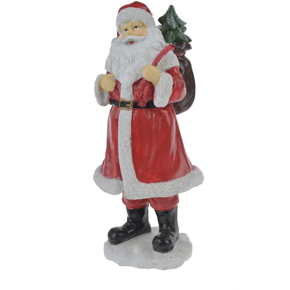 wholesales supplier resin vintage santa standing table decoration
