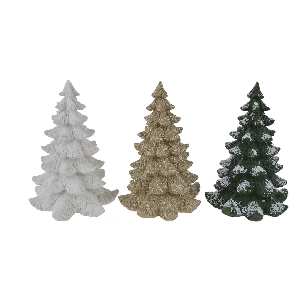 Factory Villages Winter Pines Accessory Resin Christmas Tree Craft