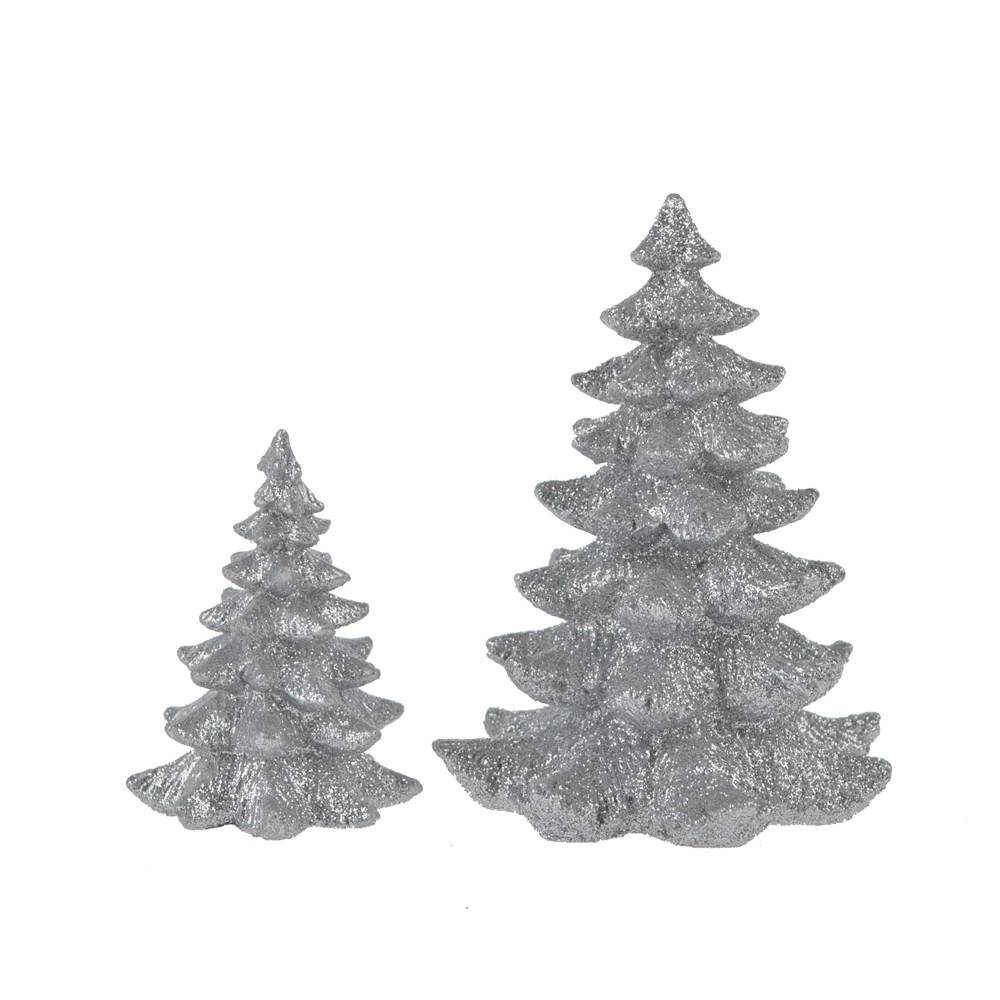 factory directly resin rich tree pine shape christmas decoration tabletop decor