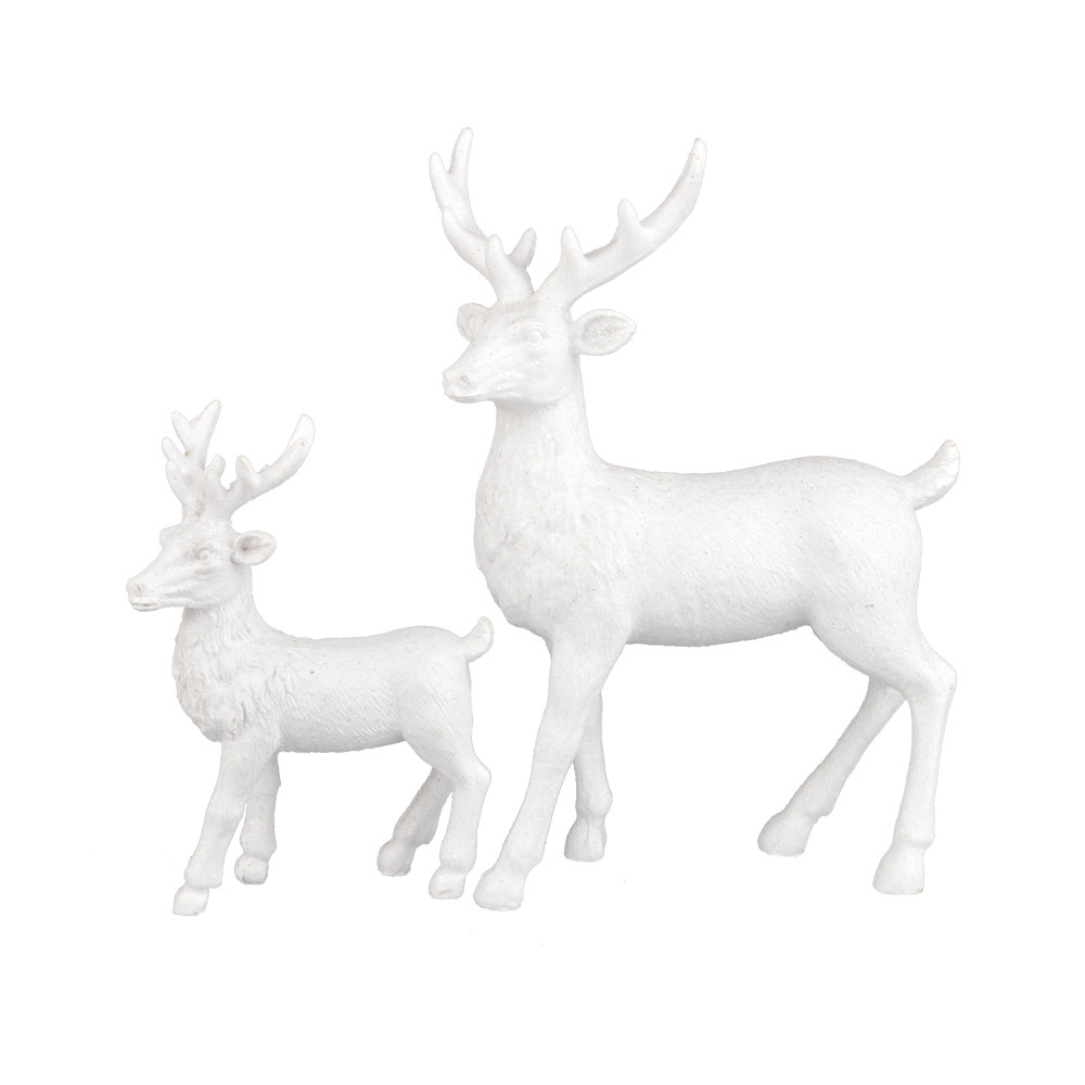 factory resin reindeer crafts resin indoor decorative statue