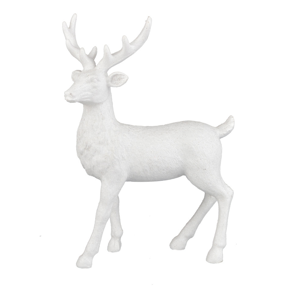 factory resin animal decoration deer standing table decor