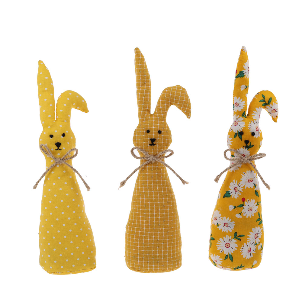 best ornament fabric Easter rabbit decor sale bunny table decoration items