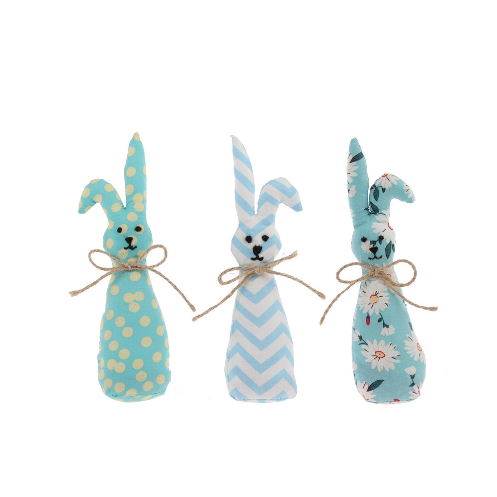 cute rabbit with yellow polka dot accent Easter bunny decoration