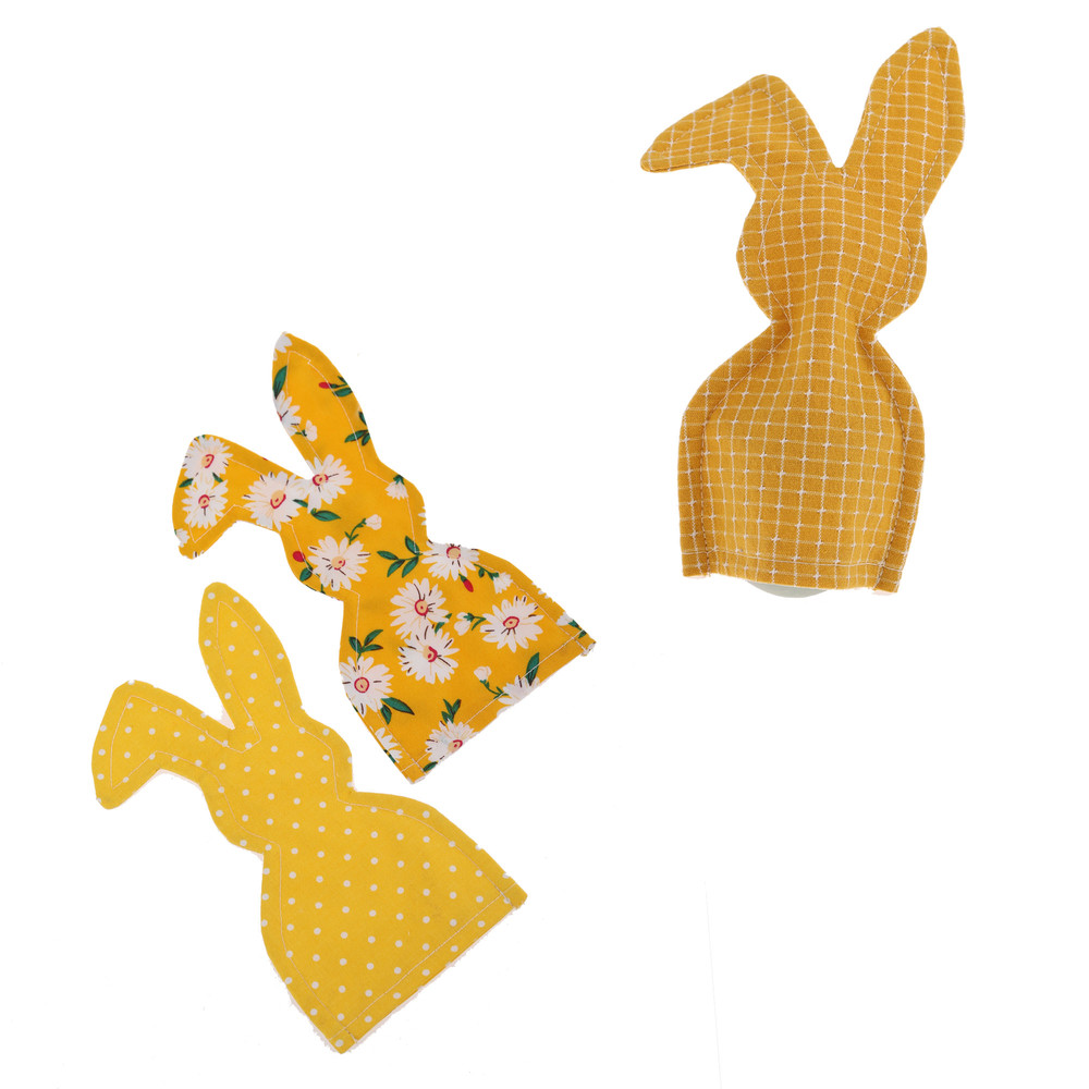 Wholesale Easter eggs cover gift decoration handmade cute cotton egg warm fabric felt promotional products