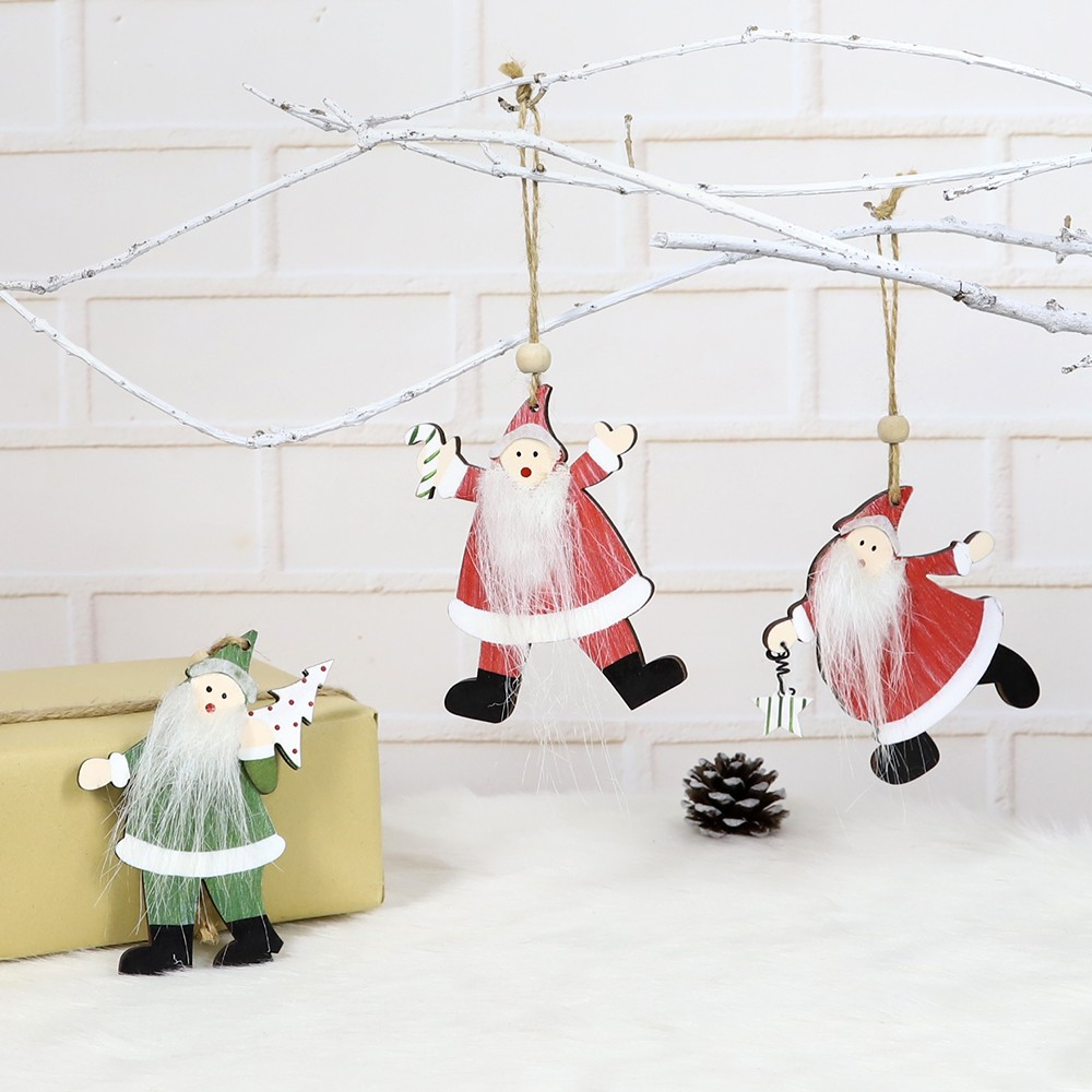 the latest 2021 wooden christmas decorations