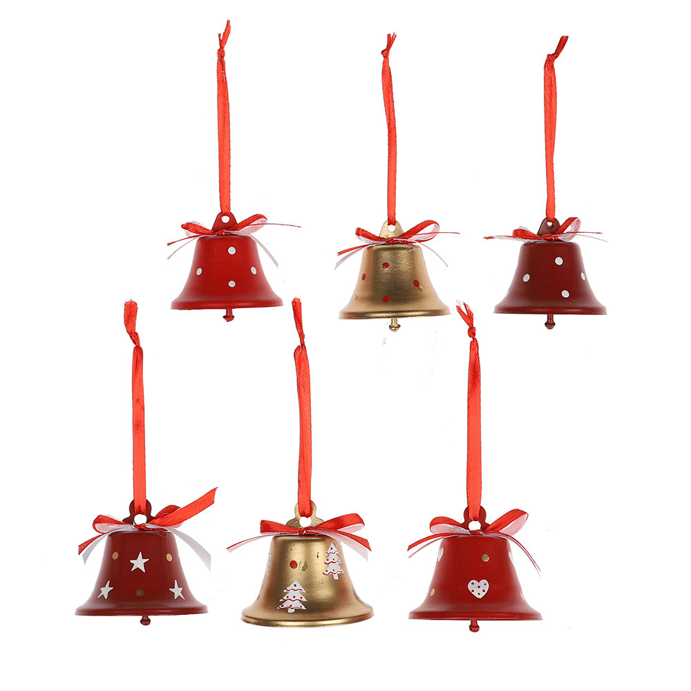 2020 Wholesale Metal Christmas Jingle Bells Large Bells For Xmas Christmas Party Home Decors