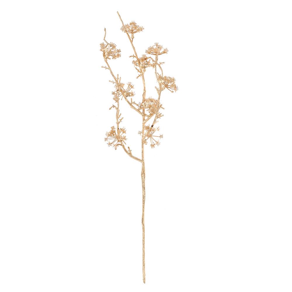 Artificial Tree Branch Vase Set Exquisite Romantic Glass Flowers Bouquet for Xmas Decor