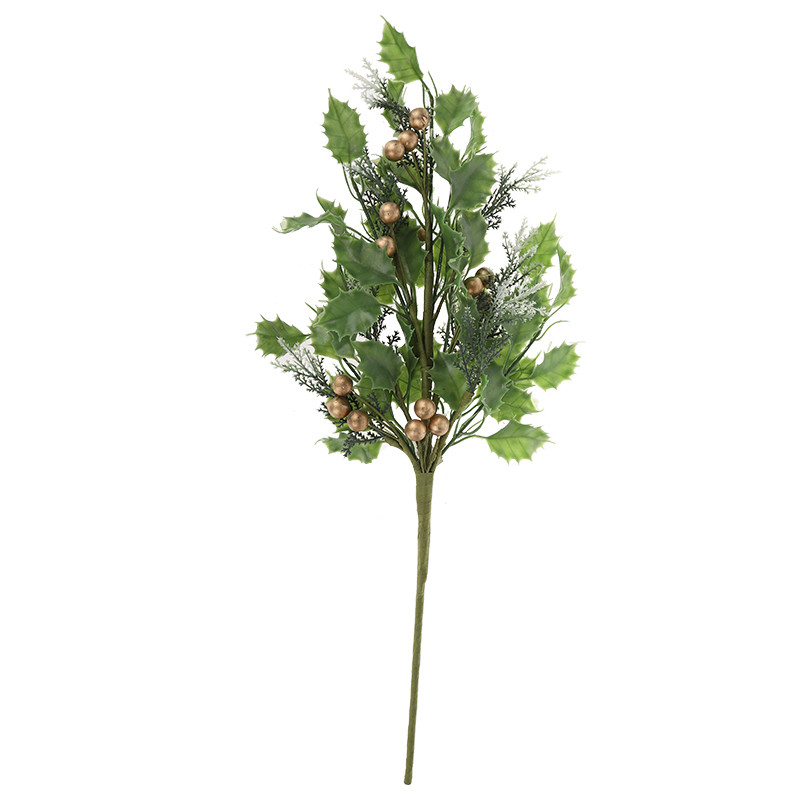 Chinese Manufacturer High Quality Christmas Tree Picks Decoration Simulation Flower Christmas Decoration Ornaments Table Top Decor