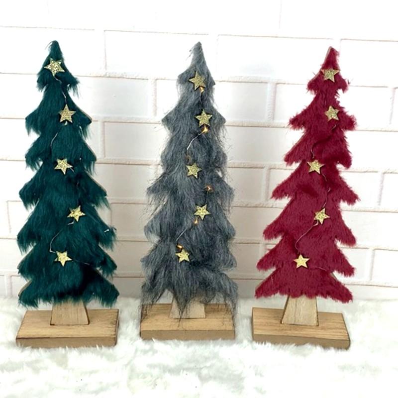 Christmas tabletop decor Christmas tree
