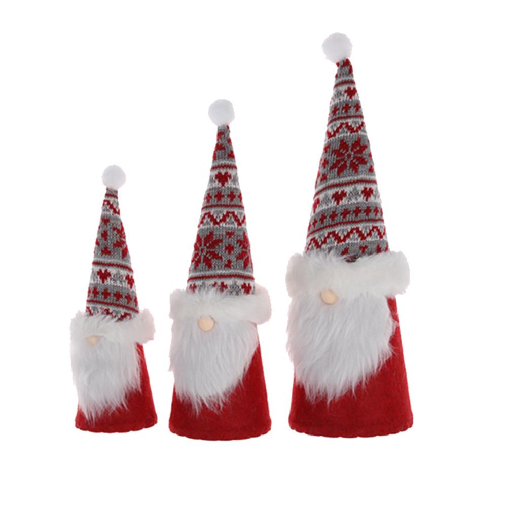 Gnomes Ornaments Plush Santa Elf Home Table Christmas Decor Swedish Gnomes tomte