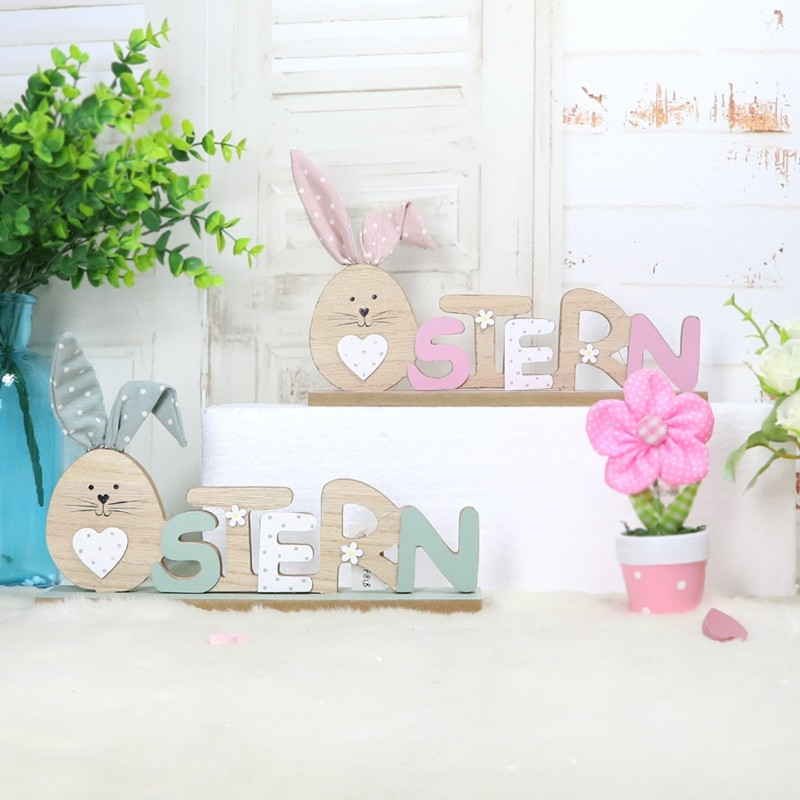Wooden crafts Holiday home decorations wholesaler