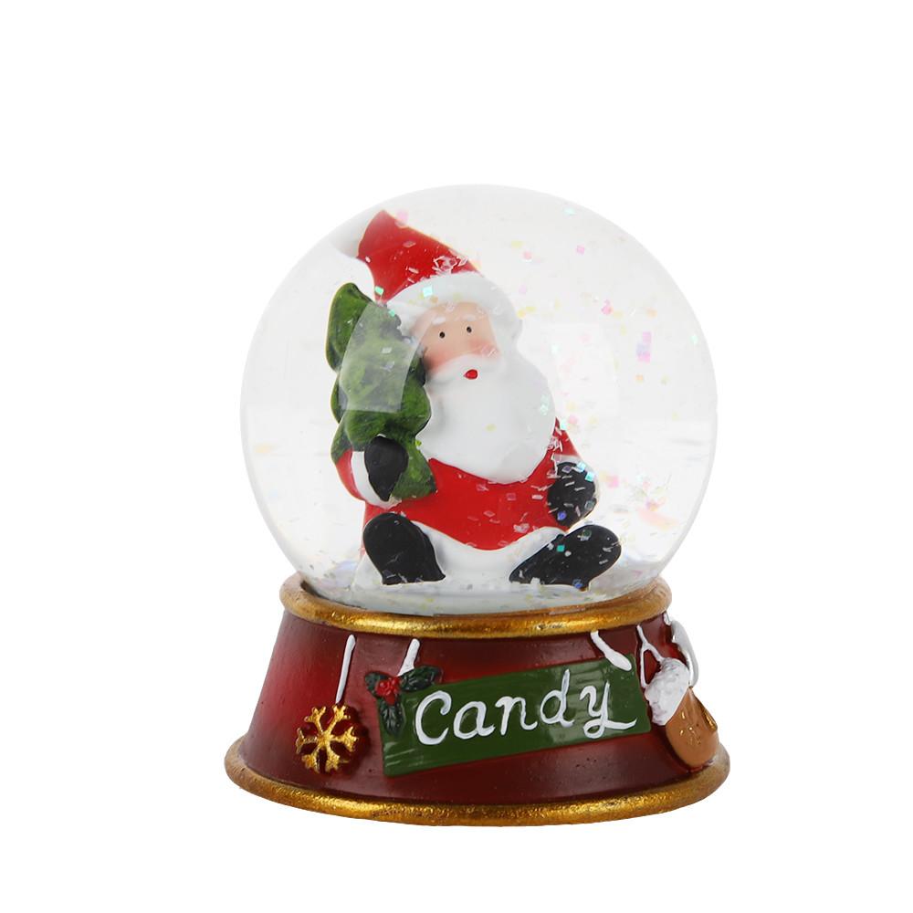 Hot sale Christmas Snow Globe Christmas Water Ball Decoration