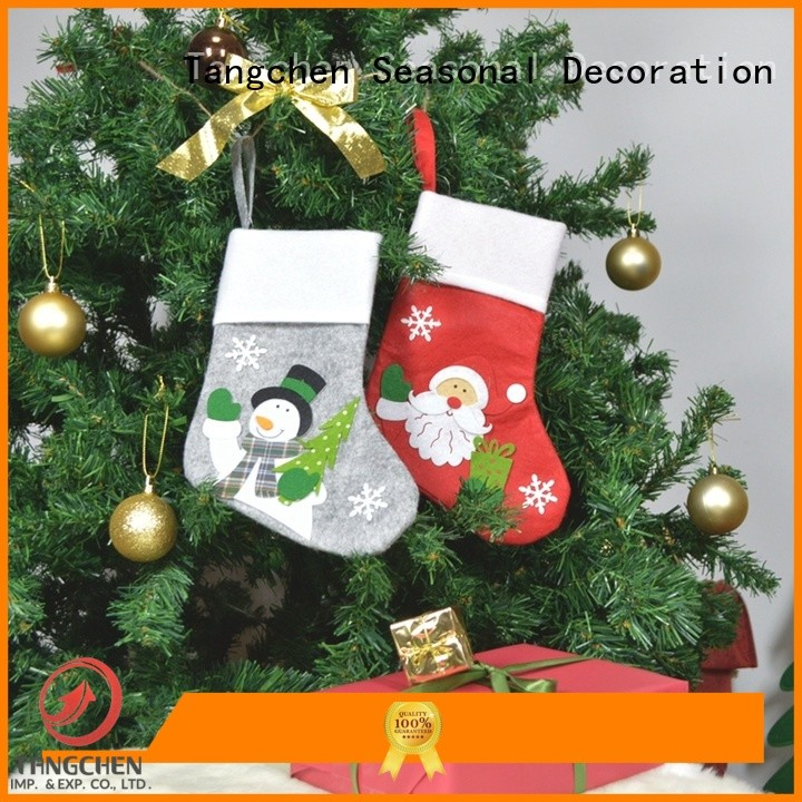 Tangchen white stocking Supply for holiday decoration