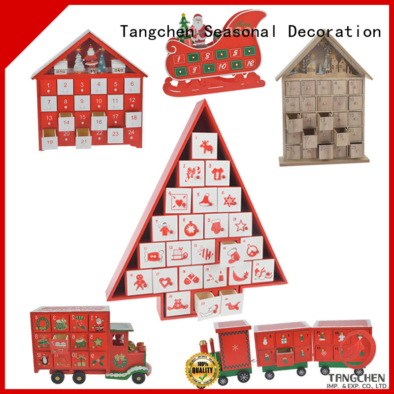 Tangchen kitchen christmas house advent calendar company for home