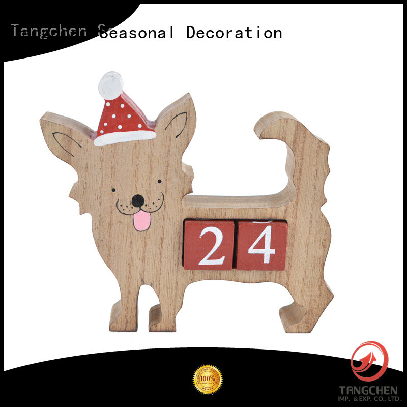 Custom wooden christmas advent calendar party manufacturers for holiday decoration