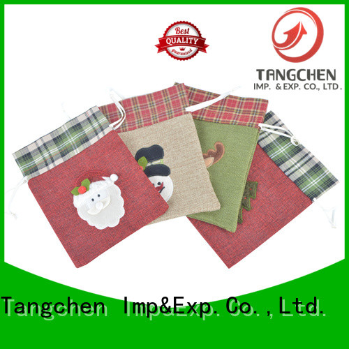 Tangchen merry large present sack for business for holiday decoration