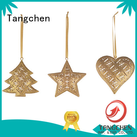 Tangchen blocks christmas ornament tree for business for holiday decoration