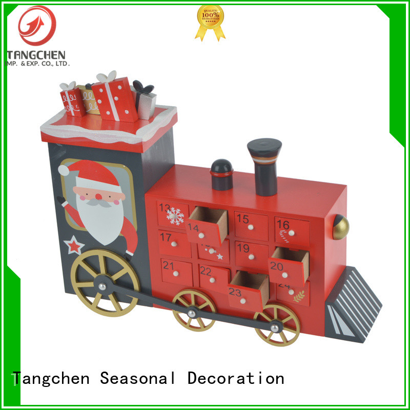 New christmas count down crafts company for home decoration