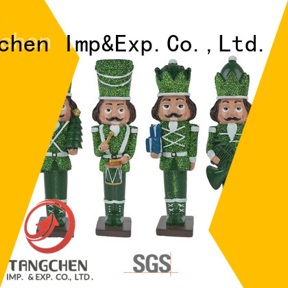 Tangchen statue nutcracker doll for business for holiday decoration