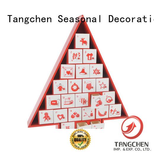 Latest fabric christmas advent calendar light factory for home