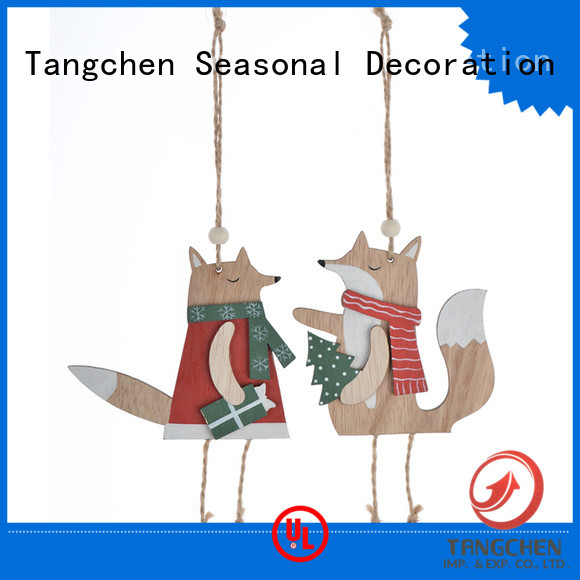 Tangchen High-quality wooden christmas decorations Supply