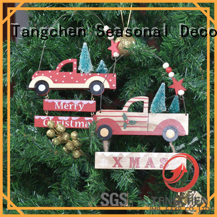 Tangchen Wholesale christmas tree ornaments company for holiday decoration