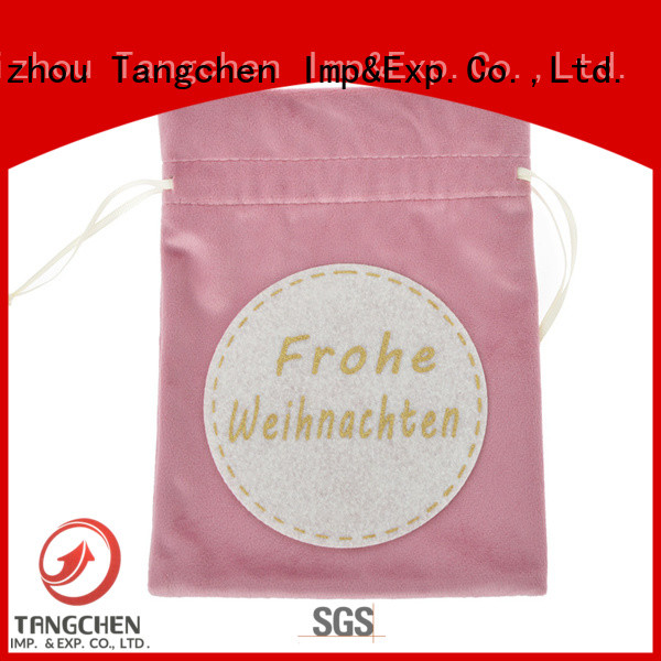 Tangchen Custom large gift sacks factory for holiday decoration