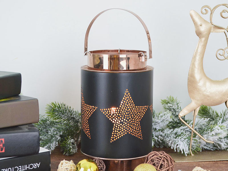 Metal Lantern- Tangchen Xmas Decor